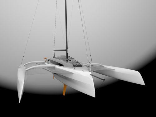 trimaran / cruising / racing / open transom