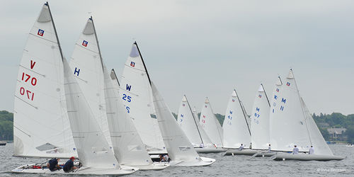 monohull / sport keelboat / one-design / with bowsprit