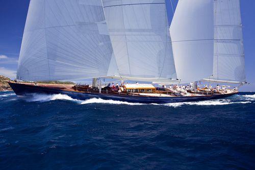 classic sailing super-yacht