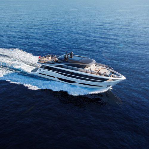 cruising motor yacht / raised pilothouse