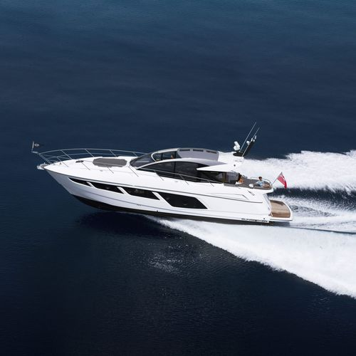 cruising motor yacht / hard-top / open / 3-cabin