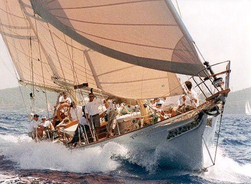 classic sailing yacht