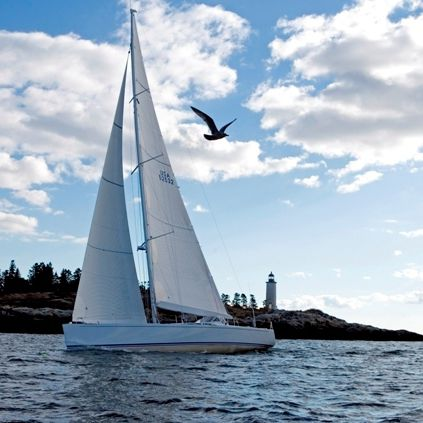 cruising sailing yacht / open transom / carbon / 3-cabin