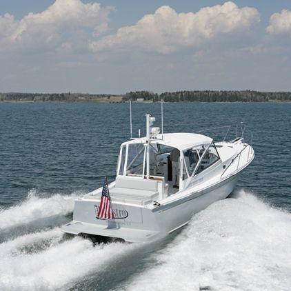 hydro-jet express cruiser / twin-engine / fast / twin-berth