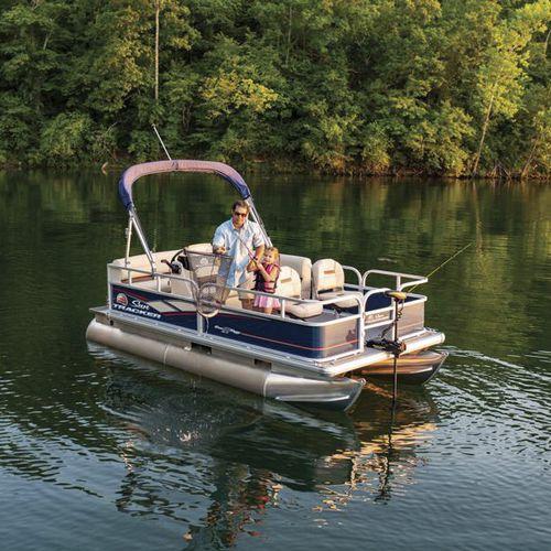 outboard pontoon boat