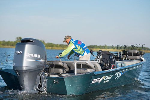 outboard jon boat / center console / side console / sport-fishing