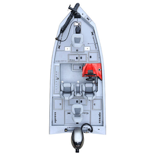 outboard crappie boat / side console / sport-fishing