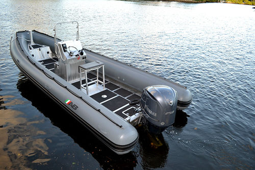 military boat