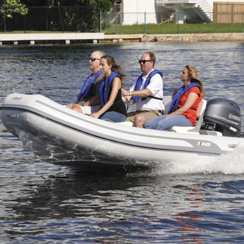outboard inflatable boat - AB Inflatables