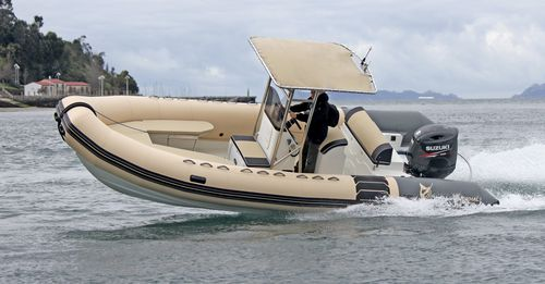 aquatic center boat / outboard / rigid hull inflatable boat