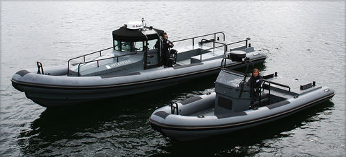 utility boat professional boat / offshore service boat / outboard / rigid hull inflatable boat