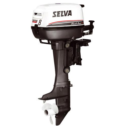 professional vessel engine / outboard / gasoline / 4-stroke