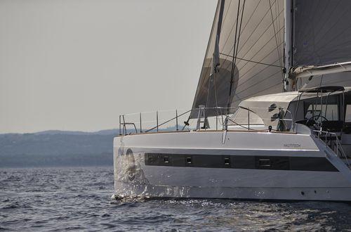 catamaran sailing yacht - Nautitech