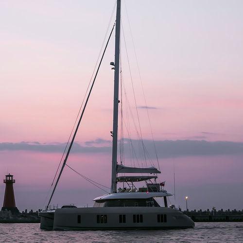 catamaran sailing yacht