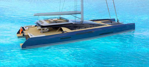 catamaran sailing super-yacht