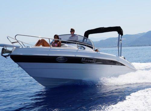 outboard cabin cruiser / open / 7-person max. / twin-berth