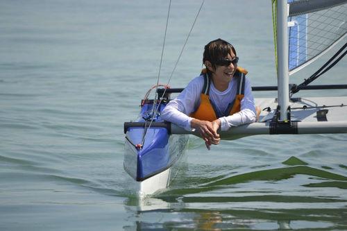 instructional sport catamaran / children's