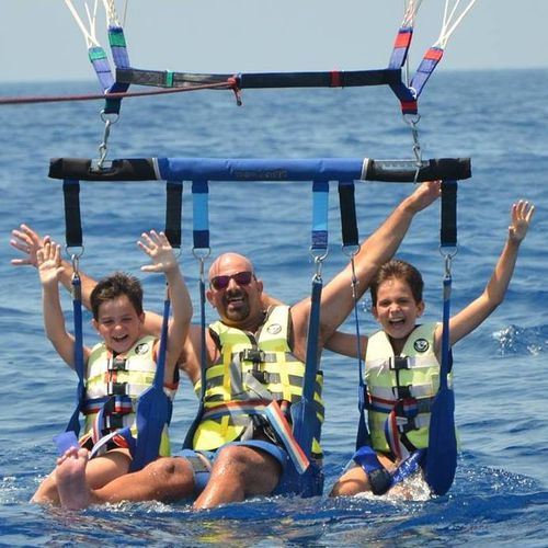 triple parasail bar