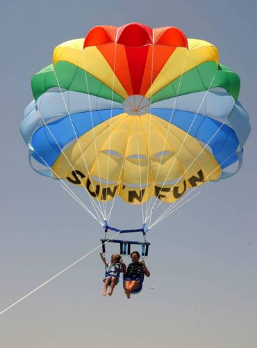 high wind parasail / 1/2-person