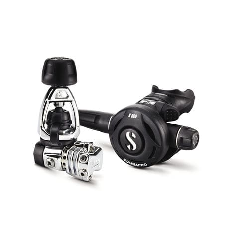 first and second stage scuba regulator / yoke / piston