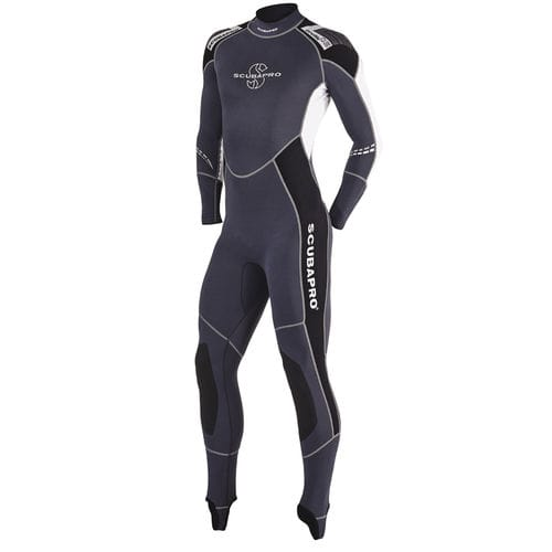 dive wetsuit / long-sleeve / one-piece / 0.5 mm