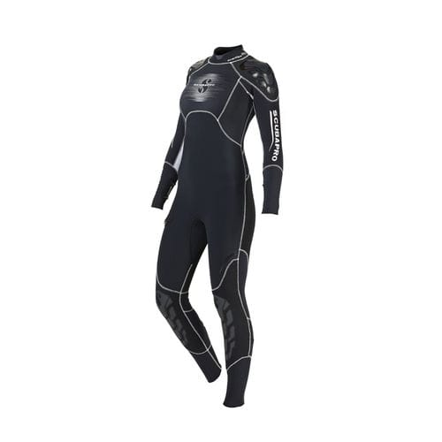 dive wetsuit / full / long-sleeve / 3 mm