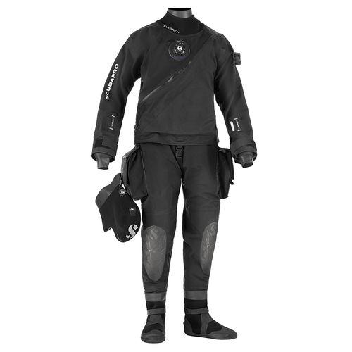 dive drysuit / long-sleeve / one-piece / 4 mm