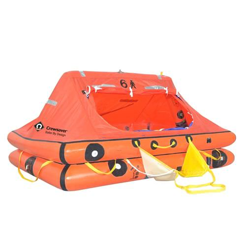 boat liferaft / offshore / 4-person / 6-person