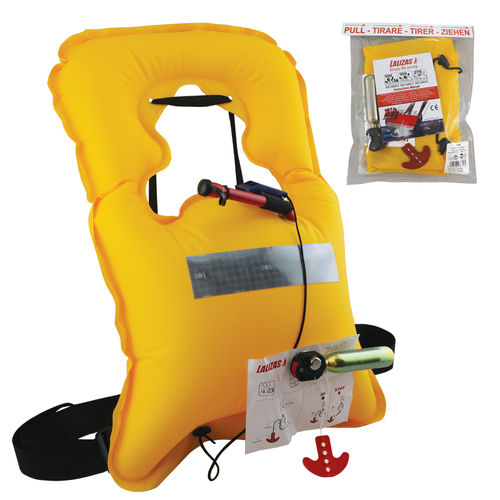 self-inflating life jacket / 120 N