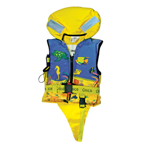 foam life jacket / 100 N / child's / with safety harness