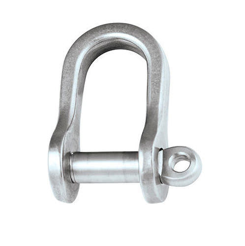 straight shackle for sailboats