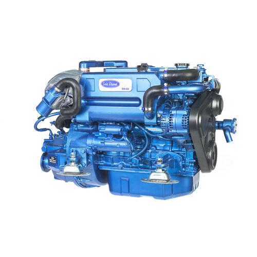 professional vessel engine / inboard / diesel / turbocharged