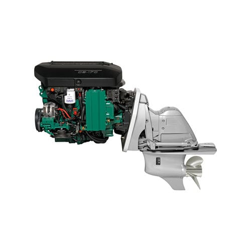 stern-drive engine / boating / diesel / common-rail