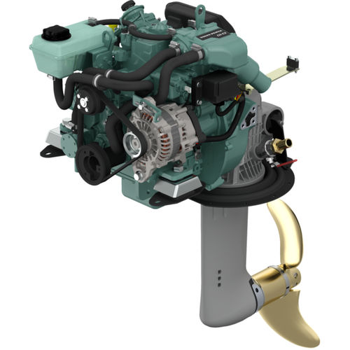 boating engine / saildrive / diesel / mechanical fuel injection