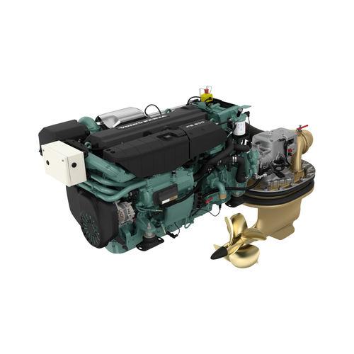IPS-drive engine / professional vessel / diesel / turbocharged