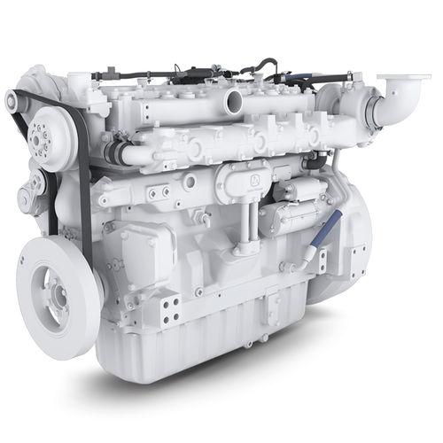 professional vessel engine / inboard / auxiliary / diesel