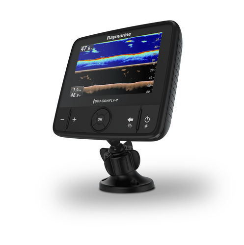 boat display / multi-function / LCD / sonar