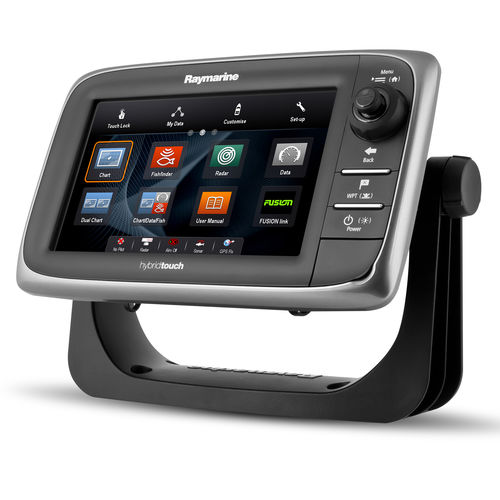 boat display / multi-function / touch screen / LED