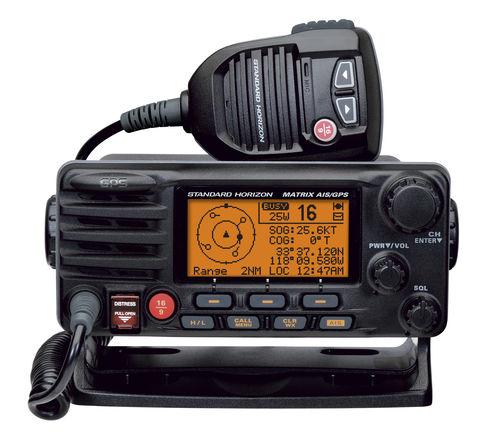 ship radio / fixed / VHF / submersible