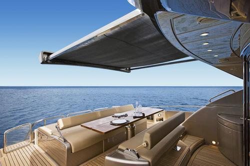 yacht sun awning