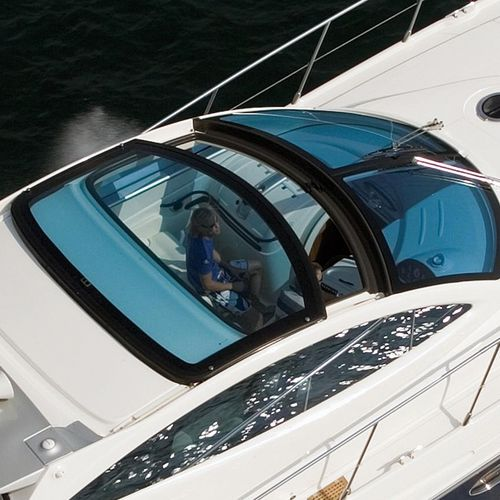 power boat hard-top