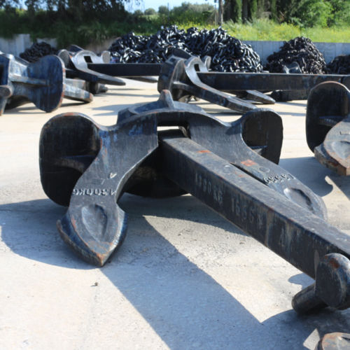 Hall type anchor / for ships
