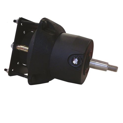 boat steering / hydraulic / articulated