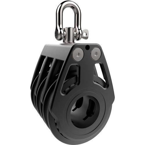 fiddle block / ratchet / ball bearing / triple