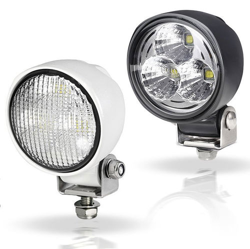 deck floodlight / for boats / LED / adjustable