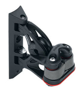 cam cleat block / swivel / single / with cleat