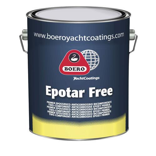 boat primer / for steel / ballast / epoxy