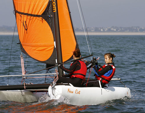 recreational sport catamaran