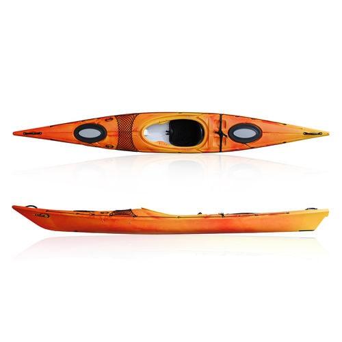 rigid kayak / sea / performance touring / river running