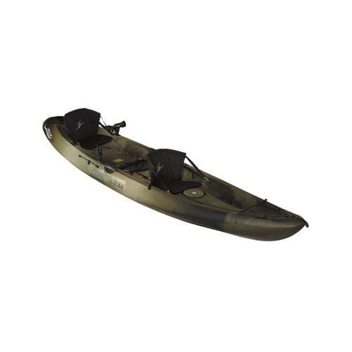 sit-on-top kayak / rigid / fishing / two-seater